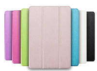 New Luxury PU Leather Flip Case Mi Pad Smart Cover Ultra Thin Tablet Case For Xiaomi MiPad Tri-fold Stand