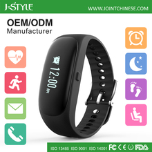 J-Style Heart Rate Monitor Pedometer Android Smartwatch OEM Smart Watch