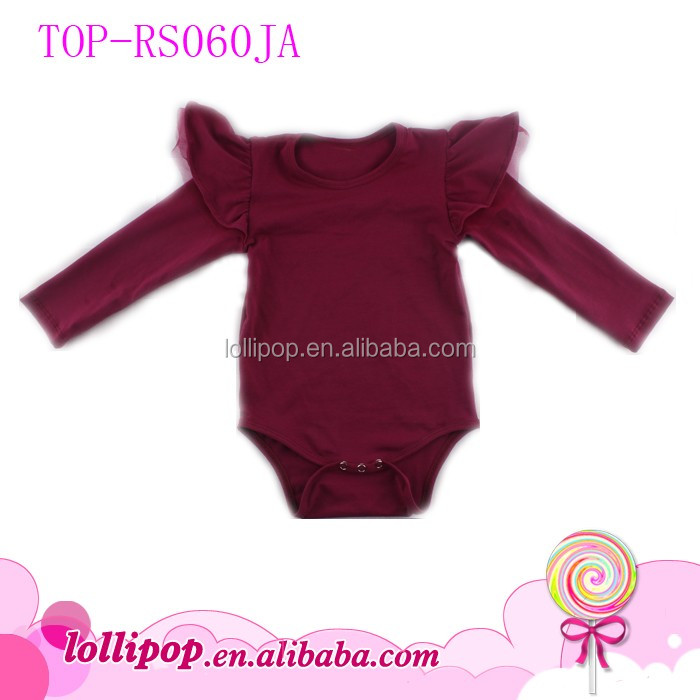 e465a771d21 Tamil Girl Baby Names Organic Cotton Girls Flutter Sleeve Rompers Wholesale  Kids Clothes Unique Baby Name