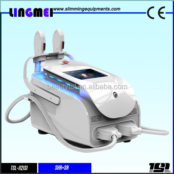Lingmei double handles professional remove acne ipl laser machine price cheap ipl elight equipment