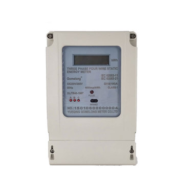 China Good DTS5558 Three Phase 4 Wire Digital Kwh Smart Energy Meter
