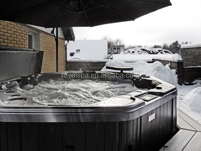 Europe Balboa Control 140 Jets Outdoor Spa Hot Tub Jacuzzi Function