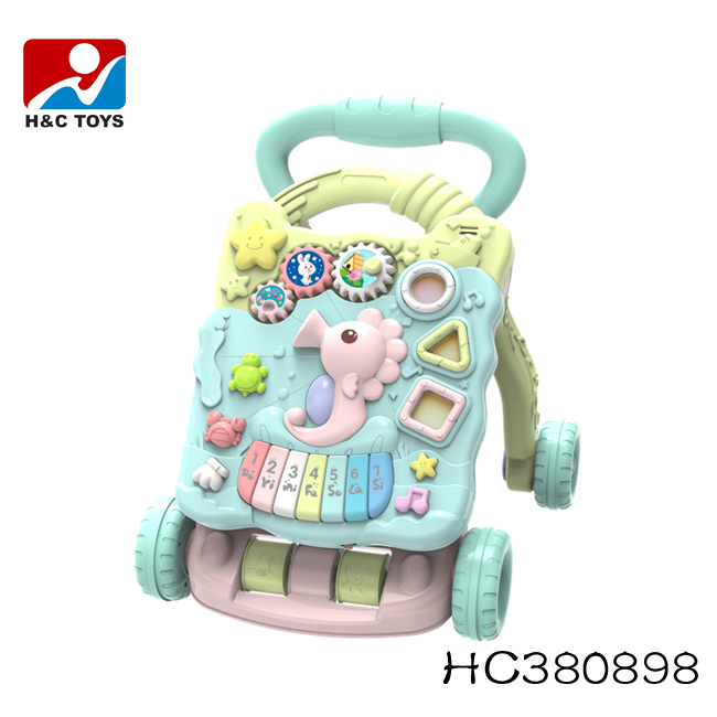 Multifunctional 2018 plastic baby walker learning walker HC380898