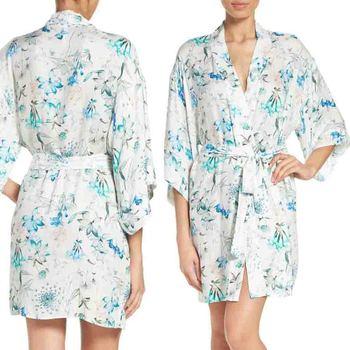 df421fa626 Women Fashion Short Sleeve Floral Print Sleepwear Pajamas Wholesale Custom  High Quality Pajamas