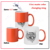 so cool hot Customized color magic 11 oz sublimation mug
