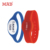 Custom printing 14443A 13.56mhz nfc silicone wristband