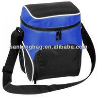 unisex zip top lunch bag