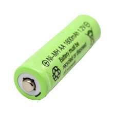 1.2V AA 1600 mAh NI-MH Rechargeable Battery High Capacity deep cycle
