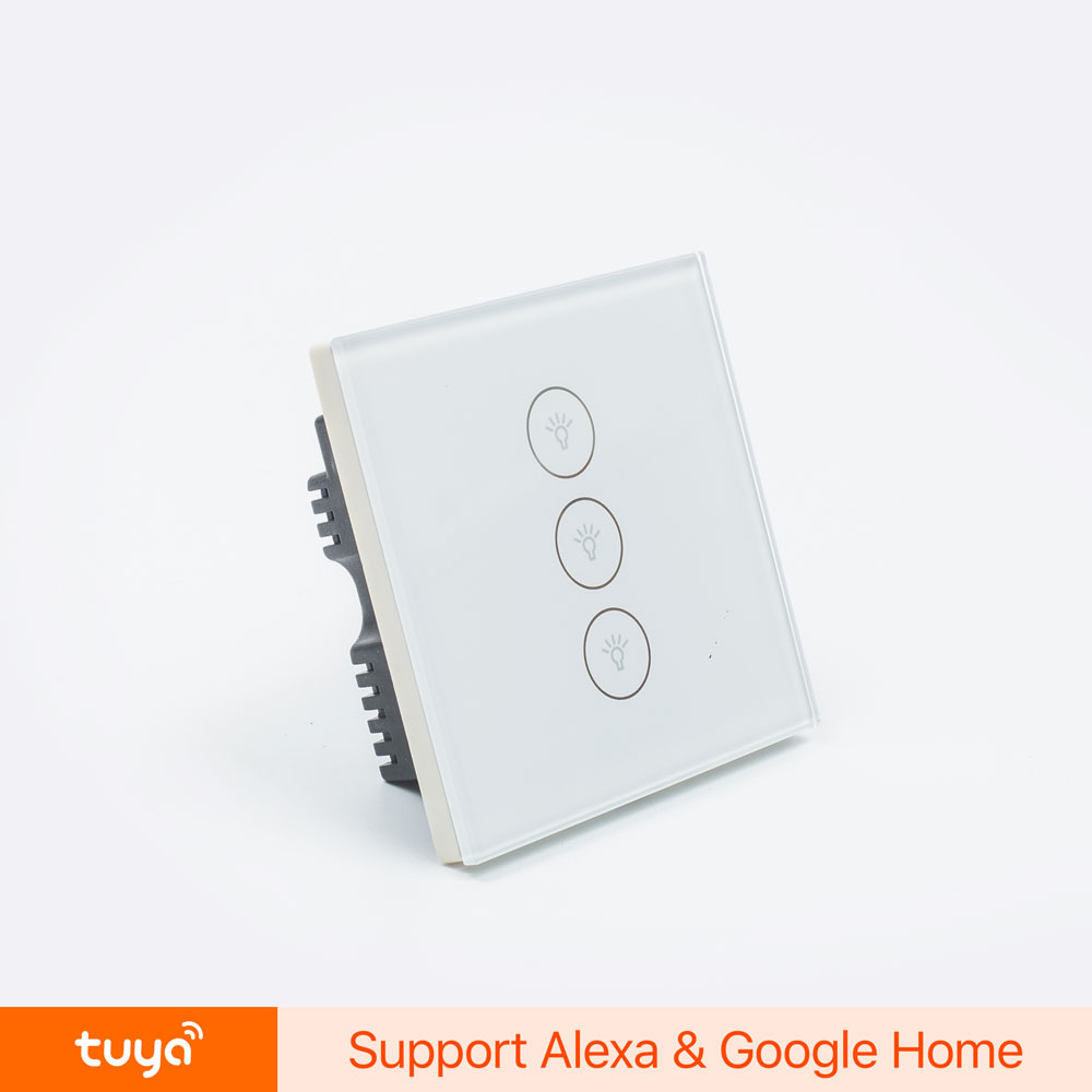 Wifi Enabled Alexa-enabled Smart Home System Touch Control Light Switch