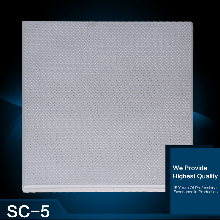 Factory direct sale ceiling tiles for home gypsum board