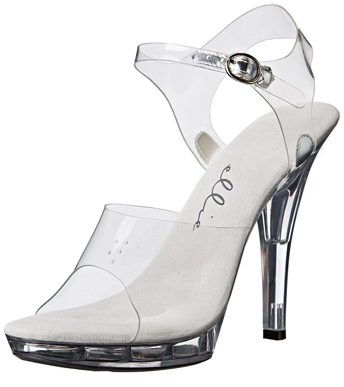 Black Somi 6 Pointed Stiletto Heel w//2 Platform Size 8