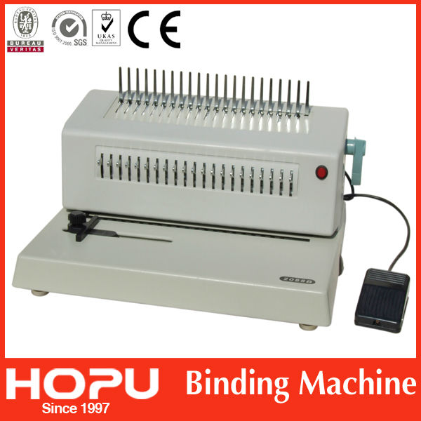 carpet binding machine/gbc binding machine/wiro binding