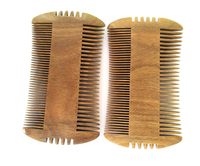 QS brand fashion 100% sandalwood wood lice comb