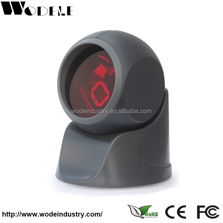 Omnidirectional USB laser barcode scanner optical mark barcode reader (WD-1030)