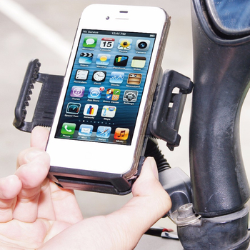 Hypersonic HPA578 bike mount Bike Mount Mobile Phone plastic hooks and clips Holder