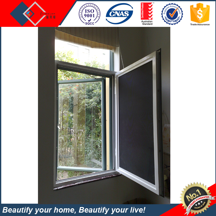 High quality window designs swing open style and tilt-trun,sliding and awning Type large glass windows manufacturer