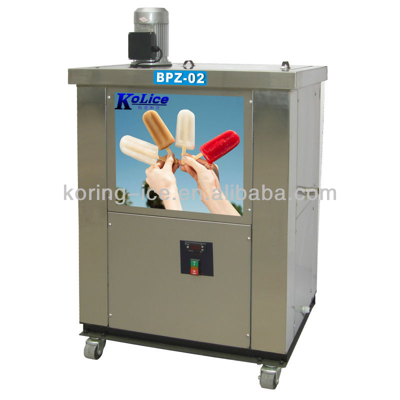 With CE RoHS approved high quality ice lolly popsicle making machine
