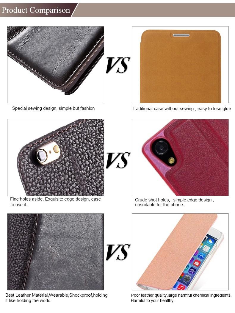 עסקי האופנה סגנון מגנטי Flip עור PU מקרה טלפון סלולארי עבור Apple iPhone 5 5S 5G בעל כרטיס ארנק נרתיק כיסוי טלפון