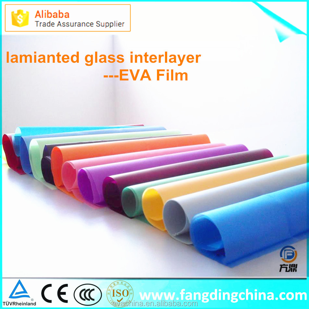 Super Transparent Decorative Laminated Glass Interlayer EVA Film