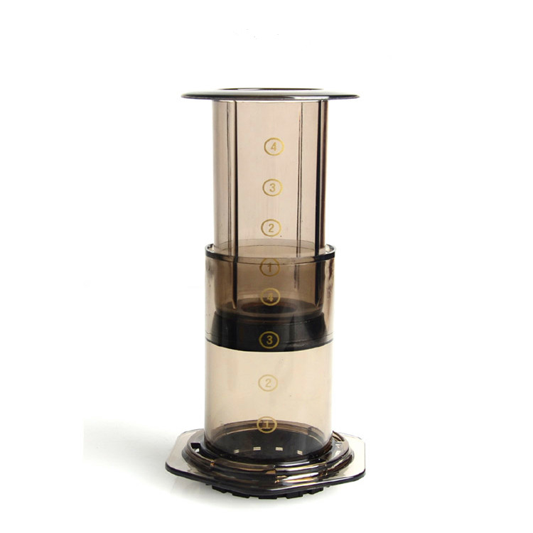 French Press Coffee Maker Pot Portable Air Espresso Machine With 350pcs Filter Papers