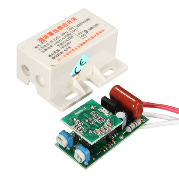 220v Ir Infrared Module Sensing Microwave Radar Body Motion Sensor Switch  Delay Distance Is Adjustable Useful Home House Tools - Buy Radar Body  Motion