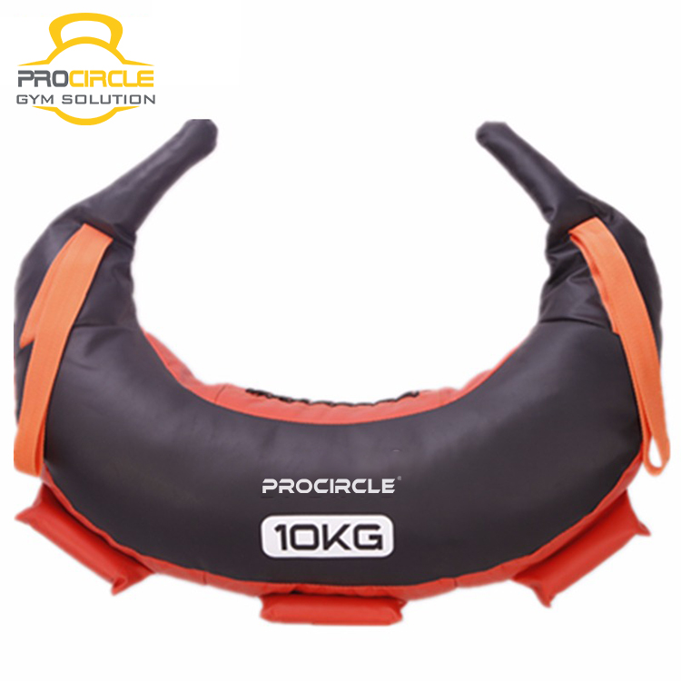 Red GYM Exercise Professional Leather Bulgarian Shoulder Power bag