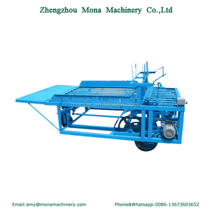 Alibaba Trust supplier reed mat knitting machine/ straw bed making machine