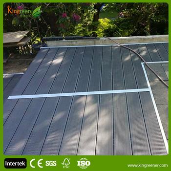 Europe Standard Outdoor Wpc Bodenbelag Wasserdicht Outdoor Composite Boden Garten Decking Buy Hochwertige Wpc Deck Laminatboden Composite Deck