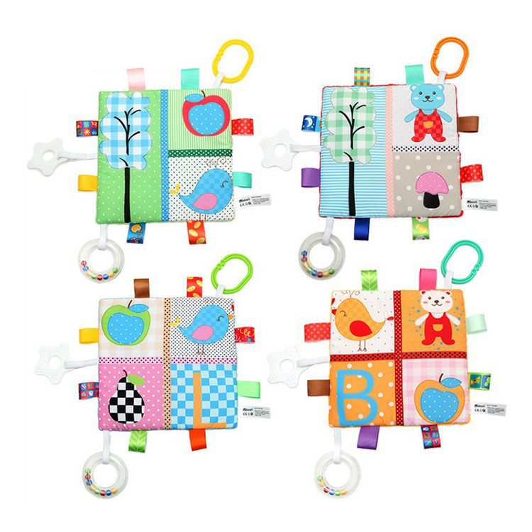 High Quality Baby Tag Security Blanket toys for kids