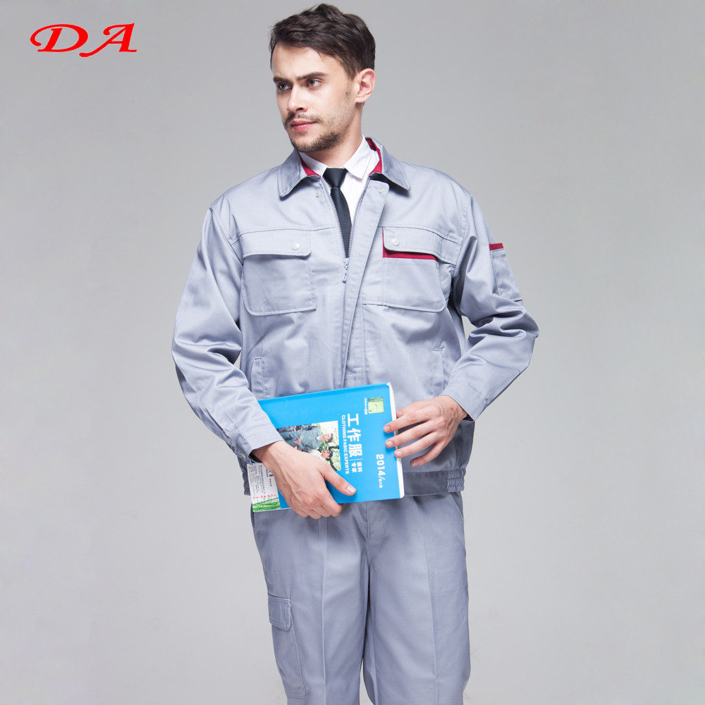 Factory Price Long Sleeves Spring and Autumn Working Suit