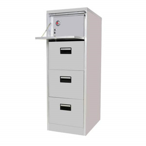 Vault 4 Drawer Legal Size File Cabinet Filing Cabinet With Safe Box
