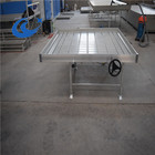 fixed and rolling bench systems Growing Tables for Commercial plants Dutch Trays