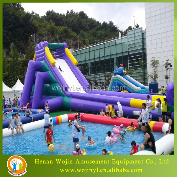 Inflatable Water Slide Port Macquarie: Géant Gonflable Toboggan Pour Adultes-Trampoline-ID De