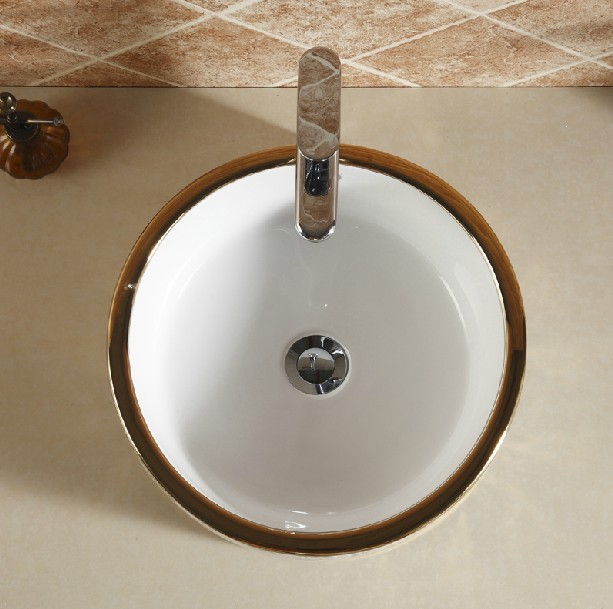 E2020 02 Counter Top Wash Basin Types Of Lavatory Round