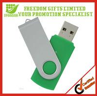 Best Selling Top Quality Logo Printed 2GB Swivel USB Flash Drive