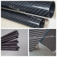 fishing rod tube carbon or carbon tube