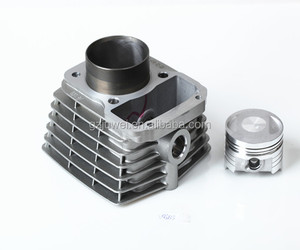 guangzhou factory motorcycle cylinder 133cc with piston kit for CG133 58.5mm
