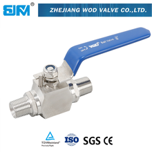 2PC Multi -ends stainless steel Ball Valve
