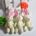 3Pcs Set 7 5CM Lovely Joint Long Ear Rabbit Plush Toys kids Toys Doll kids Birthday