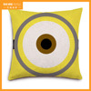 New arrival home hotel decorative thai silk pillow case natural linen cushion covers