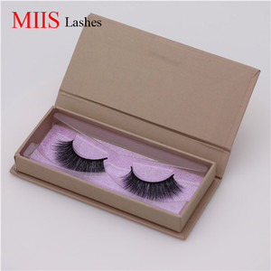 China Qingdao multiform 3D Silk False Lashes 3D Faux Mink Fur Eyelashes Mink Lashes and Custom Package