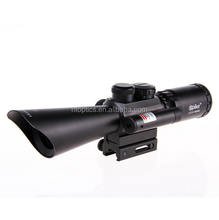 riflescope M8 3.5-10x40 Laser Sight Telescopic Reticle Reflex Scope With 40mm Rail Mount For Hunting