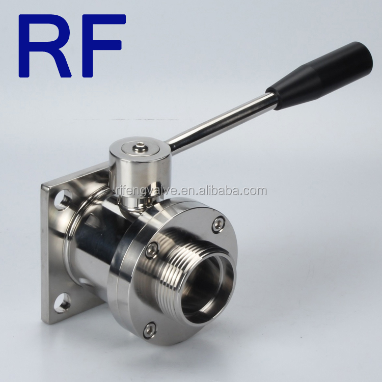 RF Sanitary Stainless Steel Macon Wine Ball Valve For Wine Industry