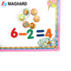 factory supply cheap magnetic cogntive toys magnetic EVA arabic numbers