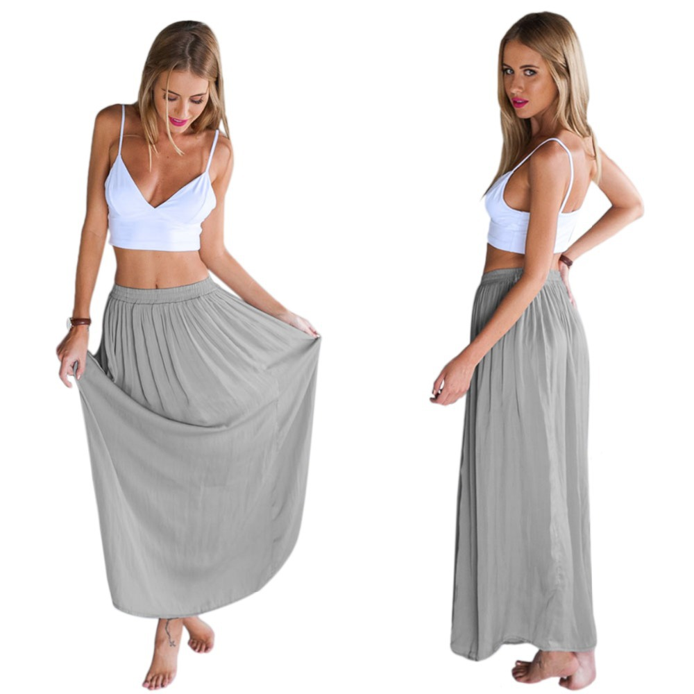 82ee6aa47245 Get Quotations · 2015 Sexy Summer Women Swimsuit Swimwears Two Piece  Outfits Beach Suit Wear Long Maxi Dress Plus