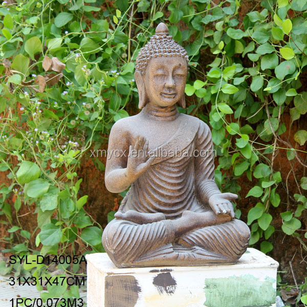 MGO Meditation Outdoor Large Garden Buddha Sculpture