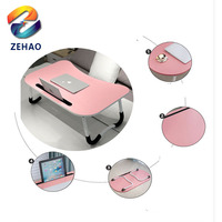 wholesale wooden adjustable folding baby changing table bed tray foldable desk laptop