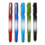 Phone holder touch screen pen laser engraving light up ball pen with logo for gifts