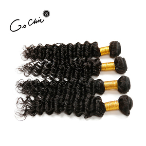 Deep Wave Human Weaving Genuine Brazilian Hair Wholesale Distributors Virgin Human Hair Extension 9A hair