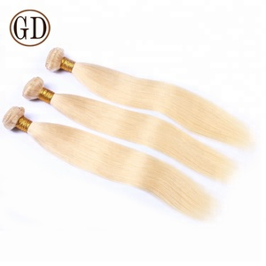 grade aaa brazilian expensive human ash blonde hair weaves